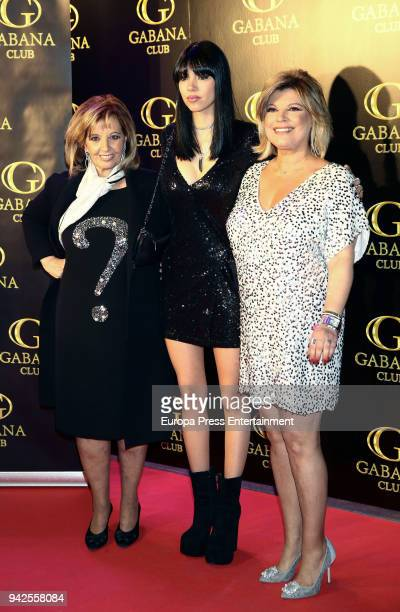 Terelu Campos and Maria Teresa Campos attends the'Alejandra Rubio's attends the Alejandra Rubio's attend the 'Alejandra Rubio's birthday photocall'...