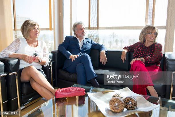 Terelu Campos Bigote Arrocet and Maria Teresa Campos attend the appointment of Dani Rovira And Maria Teresa Campos Favorite And Adopted Sons of...