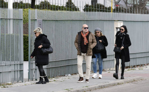 Terelu Campos Jose Carlos Bernal Carmen Borrego and Alejandra Rubio are seen on January 17 2020 in Madrid Spain