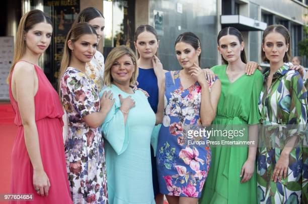 Terelu Campos presents her first jewellry collection 'TRLU' on June 15 2018 in Malaga Spain