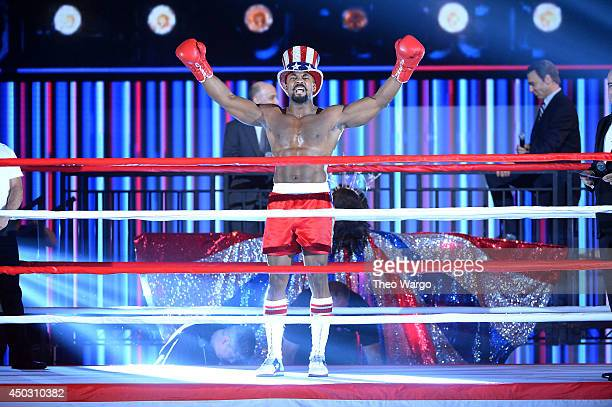 Terence Archie and the cast of 'Rocky' performs during the 68th Annual Tony Awards at Radio City Music Hall on June 8 2014 in New York City
