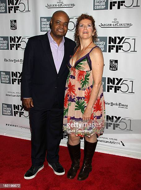 Terence Bernie Hines and Amy Stiller attends the Centerpiece Gala Presentation Of The Secret Life Of Walter Mitty during the 51st New York Film...