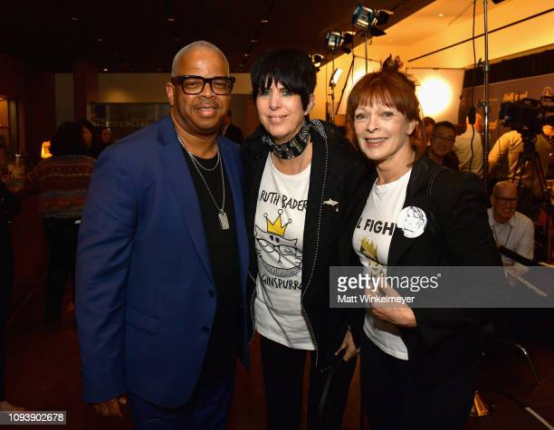 Terence Blanchard Diane Warren and Frances Fisher attend The Hollywood Reporter's 7th Annual Nominees Night presented by MercedesBenz Century Plaza...