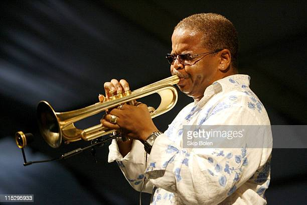 Terence Blanchard during 37th Annual New Orleans Jazz Heritage Festival Presented by Shell Terence Blanchard April 29 2006 at New Orleans Fair...