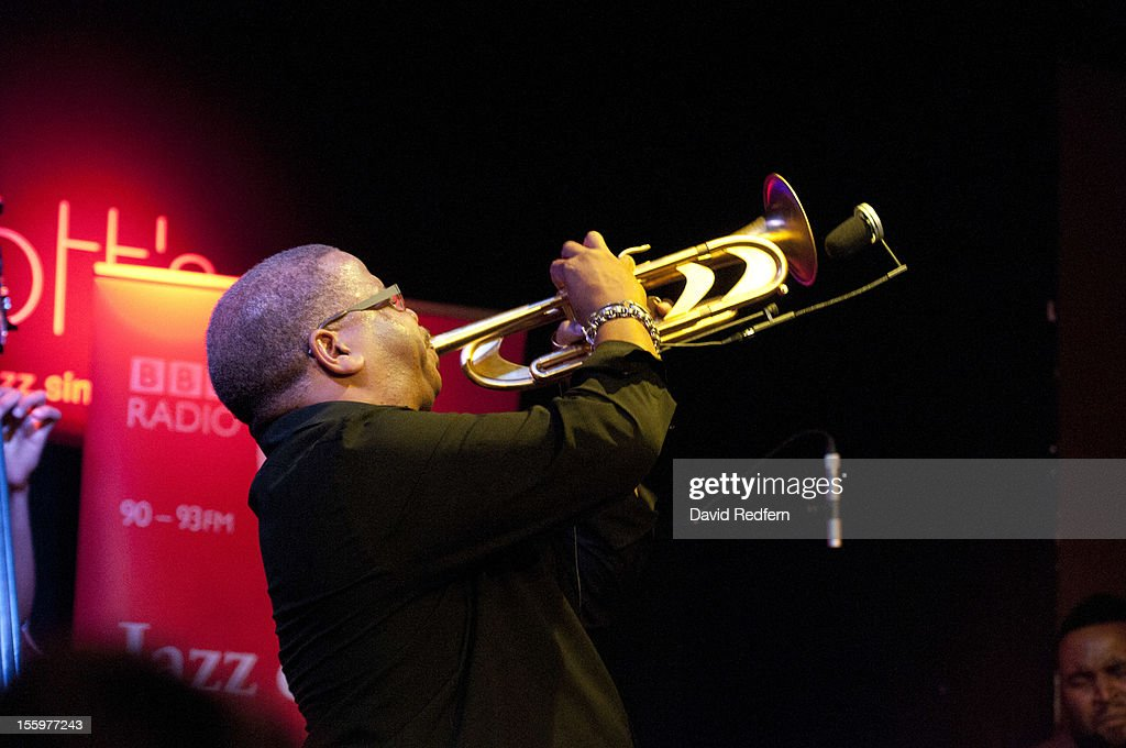 Terence Blanchard performs on stage at Ronnie Scotts for the London Jazz Festival Jazz on 3 Special on November 9, 2012 in London, United Kingdom.