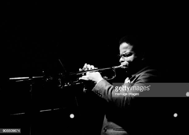 Terence Blanchard, Ronnie Scott's, Soho, London, April, 1984. Artist Brian O'Connor.