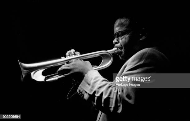 Terence Blanchard, Ronnie Scott's, Soho, London, July, 1994. Artist Brian O'Connor.