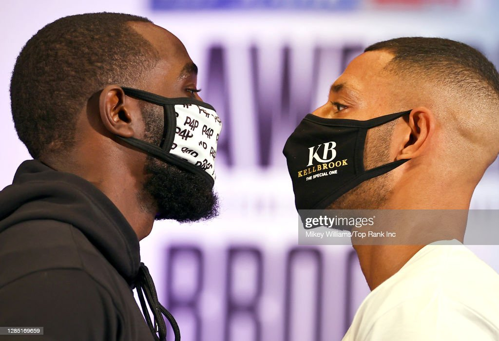Terence Crawford v Kell Brook - Press Conference : News Photo