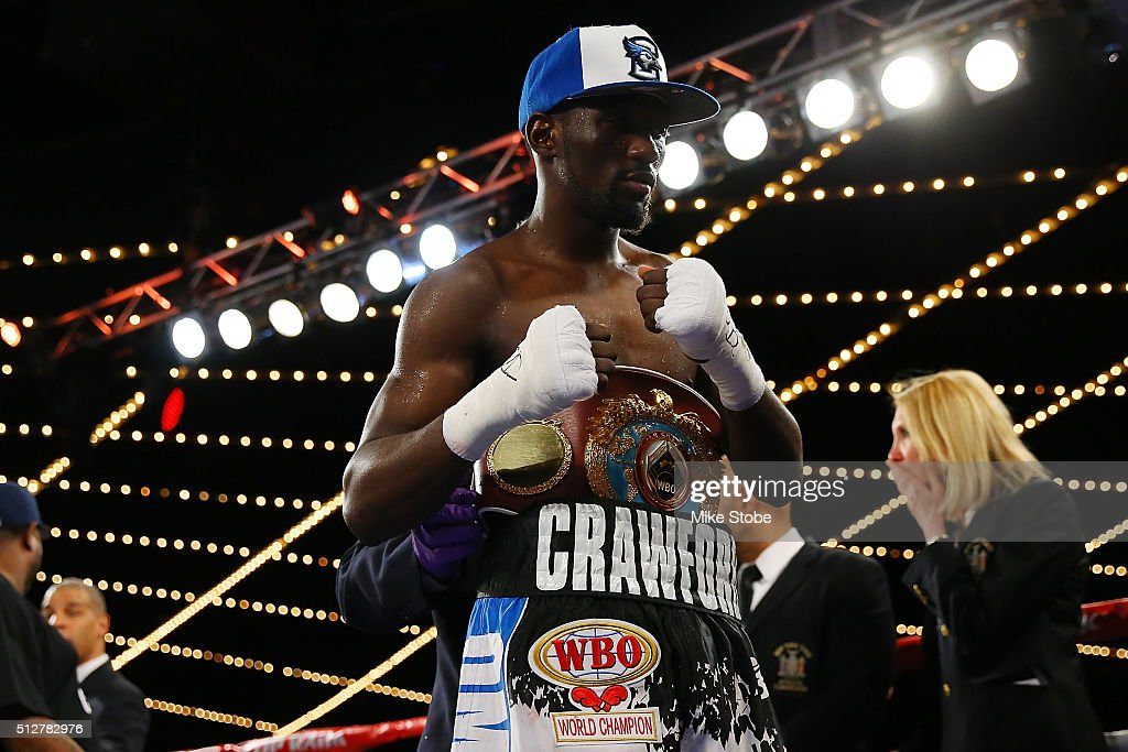 Terence Crawford v Hank Lundy : News Photo