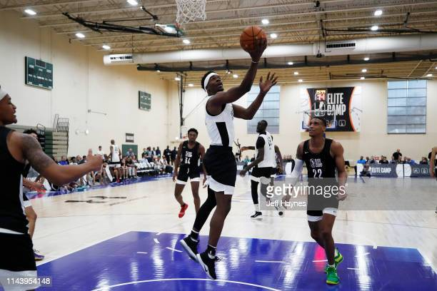 Terence Davis shoots the ball during Day Two of the G League Elite Camp at the Quest Multisport sports training facility on May 13 2019 in Chicago...