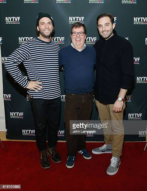 Terence Gray joins Phil Matarese and Mike Luciano of Animals during Development Day Panels at the 12th Annual New York Television Festival at Helen...