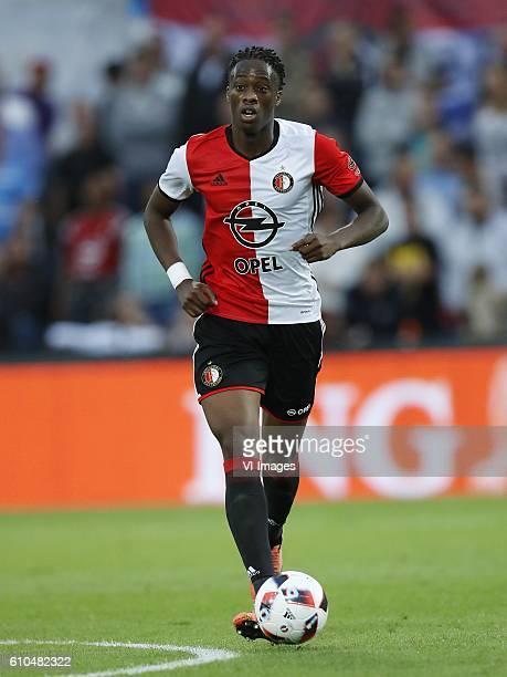 Terence Kongolo of Feyenoord during the Dutch Eredivisie match between Feyenoord Rotterdam and Roda JC Kerkrade at the Kuip on September 25 2016 in...