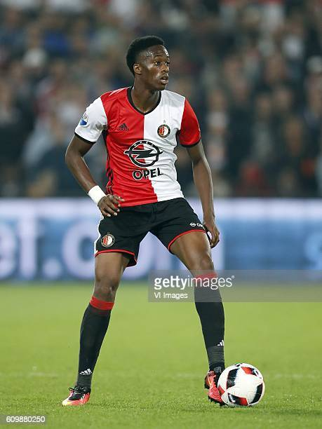 Terence Kongolo of Feyenoord during the First Round Dutch Cup match between Feyenoord Rotterdam and FC Oss at the Kuip on September 22 2016 in...