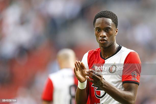 Terence Kongolo of Feyenoord during the Johan Cruijff Shield match between PSV Eindhoven and Feyenoord on July 31 2016 at the Amsterdam Arena in...