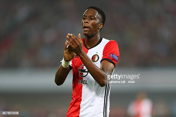 Terence Kongolo of Feyenoord during the UEFA Europa League match between Feyenoord and Manchester United at Feijenoord Stadion on September 15 2016...