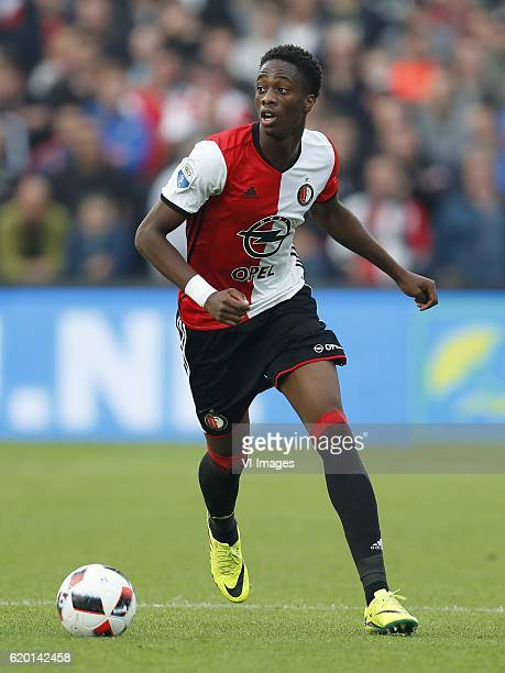 Terence Kongolo of Feyenoordduring the Dutch Eredivisie match between sc Heerenveen and Ajax at the Kuip on October 30 2016 in Rotterdam The...