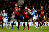 bournemouth england terence kongolo shoots during