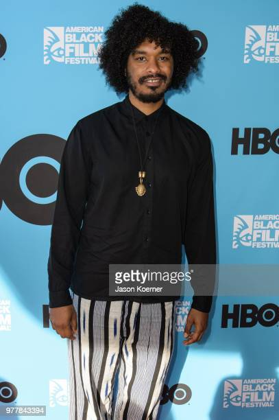 Terence Nance attends the Secret HBO Sneak Screening of Random Acts of Flyness at the Colony Theater during the 22nd Annual American Black Film...