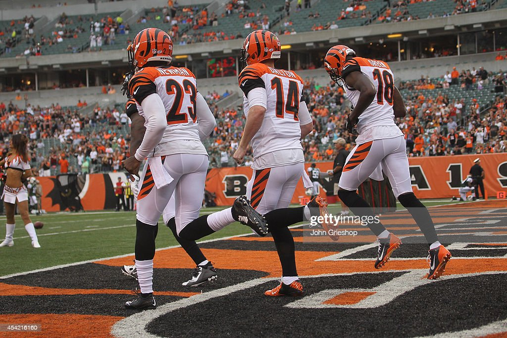 New York Jets v Cincinnati Bengals : News Photo