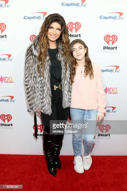 Teresa and Audriana Giudice arrives at iHeartRadio's Z100 Jingle Ball 2019 Presented By Capital One on December 13, 2019 in New York City.