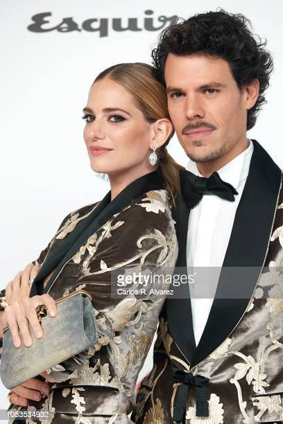 Teresa Baca and Juan Avellaneda attend Esquire 'Men of the Year' awards 2018 at the Instante Foundation on October 25 2018 in Madrid Spain