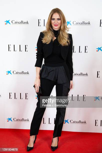 Teresa Baca attends 'Elle 75th Anniversary' photocall at Centro Centro on December 15, 2020 in Madrid, Spain.