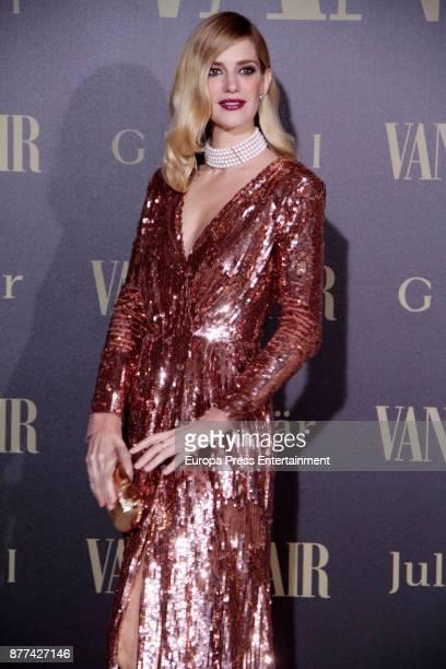 Teresa Baca attends the gala 'Vanity Fair Personality of the Year' to Garbine Muguruza at Ritz Hotel on November 21 2017 in Madrid Spain