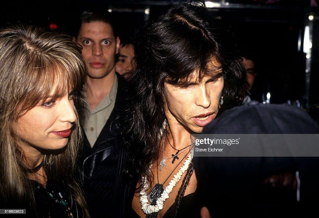Teresa Barrick & Steven Tyler : News Photo
