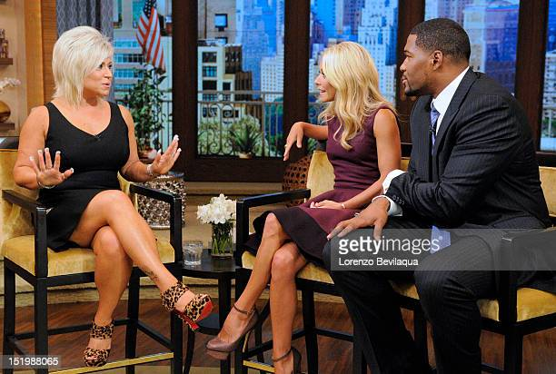 MICHAEL 9/14/12 Teresa Caputo the Long Island Medium appears on the newlyrechristened syndicated talk show LIVE with Kelly and Michael' distributed...