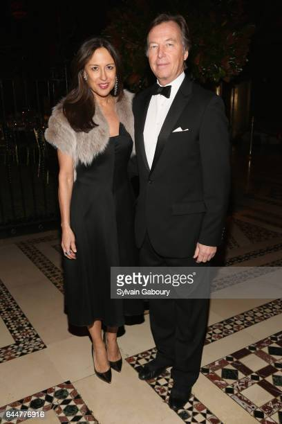 Teresa Colley and Bruce Colley attend Museum of the City of New York Winter Ball at Cipriani 42nd Street on February 23 2017 in New York City