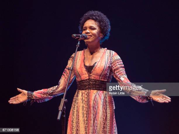 Teresa Cristina performs at the Barbican on April 21 2017 in London England