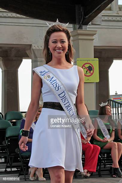 Teresa Davis Miss Districtof Columbia enters during opening ceremonies at Atlantic City Boardwalk Hall on September 3 2014 in Atlantic City New Jersey