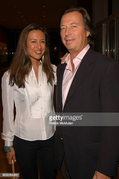 Teresa de Seguera and Bruce Colley attend HERMES and TURNER CLASSIC MOVIES to Host Celebration to Salute Cinematic Shorts at The Morgan Library and...