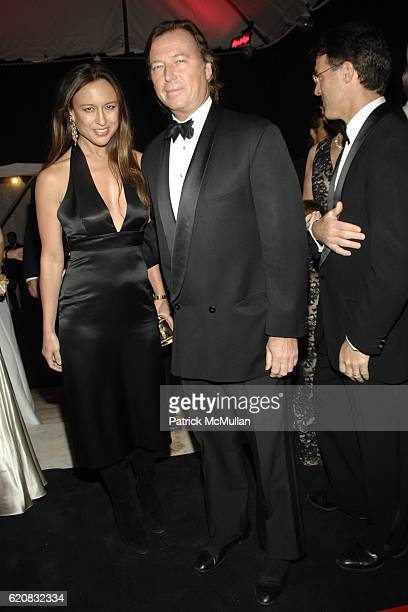 Teresa de Seguera and Bruce Colley attend MUSEUM of the CITY OF NEW YORK Director's Council and DIOR WINTER BALL at Museum of the City of New York on...