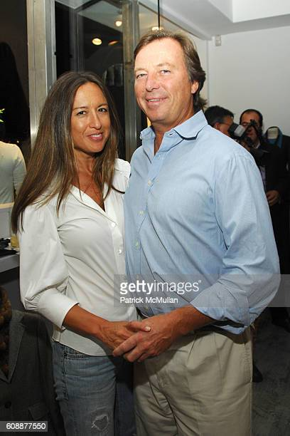 Teresa de Seguera and Bruce Colley attend NAVAN Chill Out Party Hosted by Andrew Parker Arden Wohl and Jocelyn Wohl at Parker Boutique on August 28...