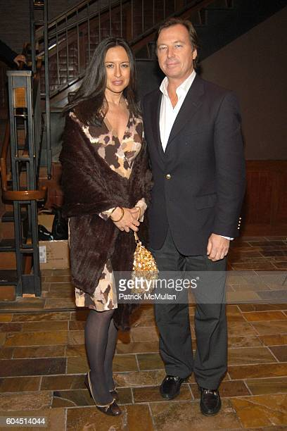 Teresa Desequera and Bruce Colley attend A Special Screening Of Sony Pictures Classics VOLVER And Dinner Party at Tribeca Grand Hotel / Dinner at 66...