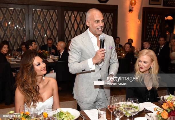 Teresa FossDel Rosso Audi of America President Mark Del Rosso and Nicole Kidman attend the special dinner with Nicole Kidman celebrating 'Destroyer'...