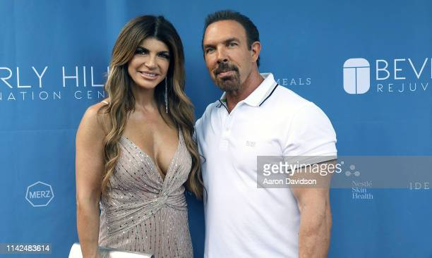Teresa Giudice and Dan Holtz attend Beverly Hills Rejuvenation Center expands into Boca Raton with a starstudded grand opening event on May 9 2019 in...