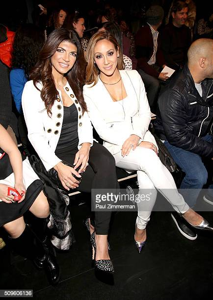 Teresa Giudice and Melissa Gorga attend the Rookie USA Presents Kids Rock! - Front Row & Backstage - Fall 2016 New York Fashion Week: The Shows at...