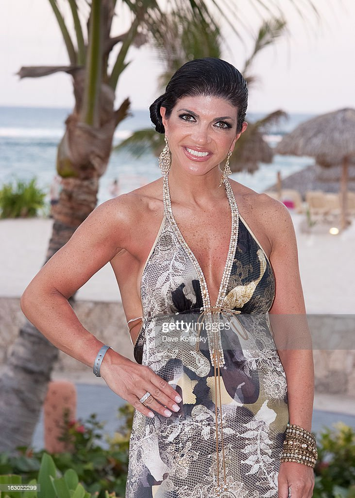 Teresa Giudice at the Majestic Resort in Punta Cana on March 3, 2013 in UNSPECIFIED, Dominican Republic.