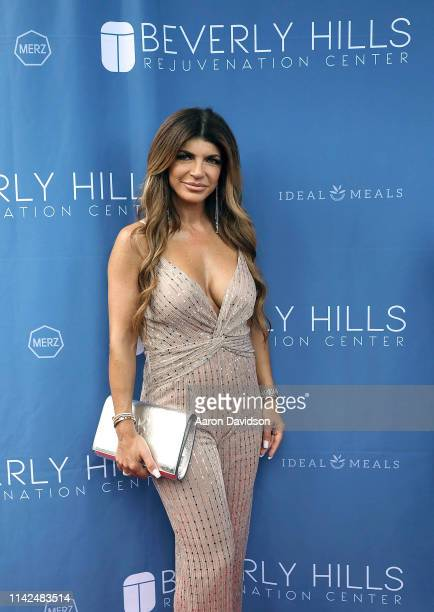 Teresa Giudice attends Beverly Hills Rejuvenation Center expands into Boca Raton with a star-studded grand opening event on May 9, 2019 in Boca...