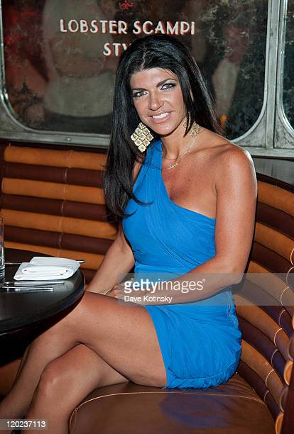 Teresa Giudice attends dinner at Lavo on August 1 2011 in New York New York