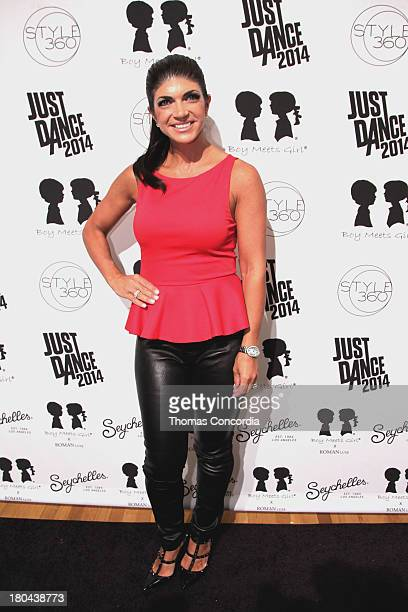 Teresa Giudice attends Just Dance with Boy Meets Girl at the STYLE360 Fashion Pavilion in Chelsea on September 12 2013 in New York City