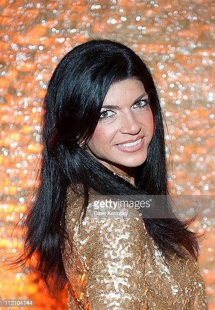 Teresa Giudice attends Kim DePaola's birthday party at Chakra on April 12 2011 in Paramus New Jersey