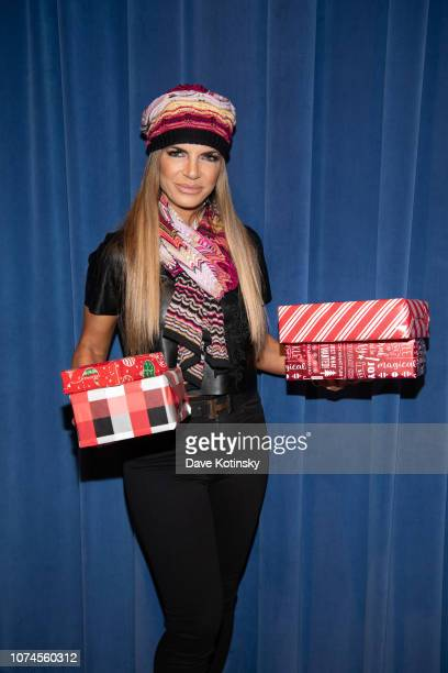 Teresa Giudice attends the Cesar DJ Envy's 2018 Holiday Toy Giveaway on December 21 2018 in Paterson New Jersey