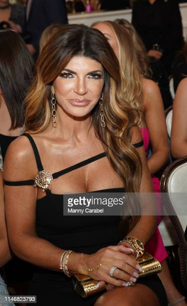 Teresa Giudice attends the Envy By Melissa Gorga Fashion Show on May 03, 2019 in Hawthorne, New Jersey.
