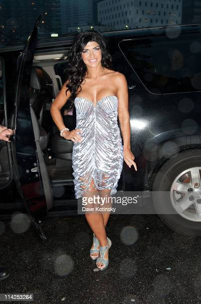 Teresa Giudice attends the 'Real Housewives of New Jersey' Season 3 viewing and 'Fabulicious' Cookbook launch party at Tribeca Night Club on May 16...