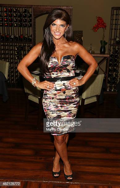 Teresa Giudice attends the Real Housewives Of New Jersey Season Six Premiere Party on July 13 2014 in Parsippany New Jersey