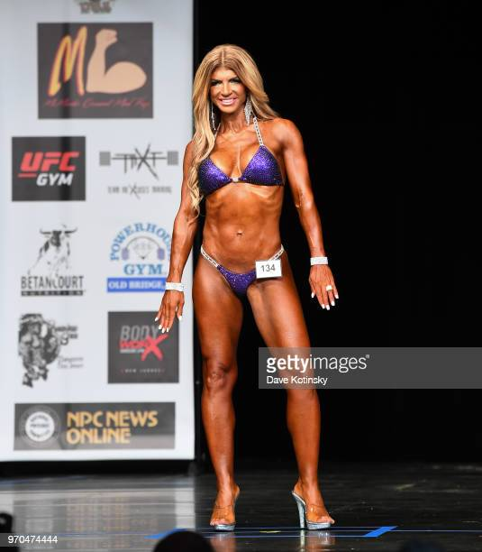 Teresa Giudice competes in the Bikini Division of the NPC South Jersey Bodybuilding Championships on June 9 2018 in Medford New Jersey