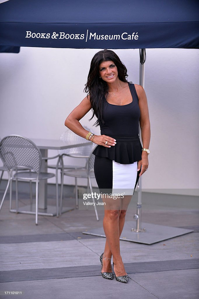 Teresa Giudice greets fans and signs copies of 'Fabulicious On The Grill' at Books and Books at Museum of Art on June 21, 2013 in Fort Lauderdale, Florida.